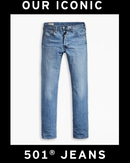 Our New Iconic 501 Jeans from The Levi's Store