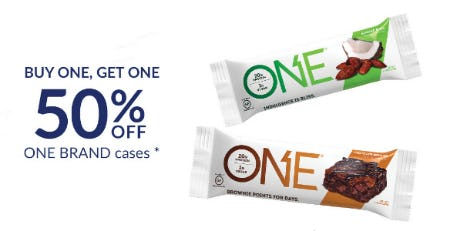 BOGO 50% Off One Brand Cases from The Vitamin Shoppe