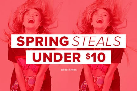 Spring Steals Under $10 from Rainbow