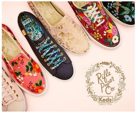 New Rifle Paper Co. Keds from DSW Shoes