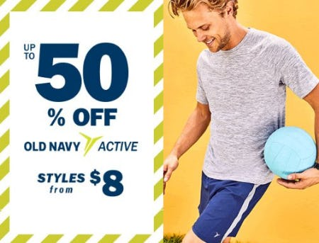 Up to 50% Off Old Navy Active from Old Navy