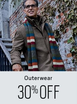 30% Off Outerwear from Men's Wearhouse