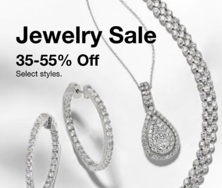 Jewelry Sale 35-55% Off