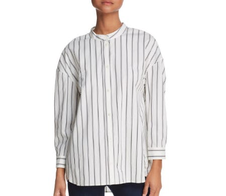 Joie Pani Striped Shirt from Bloomingdale's