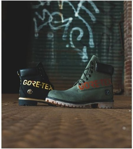 "Timberland 6"" Premium GORE-TEX from DTLR"