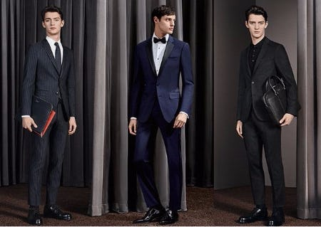 BOSS Suits Styled by Fit or Occasion