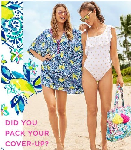 Resort Ready Swim & Cover-Ups from Lilly Pulitzer