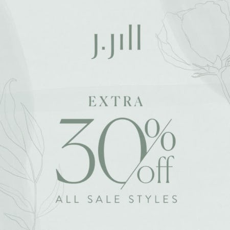 Extra 30% off Sale Styles from J.Jill