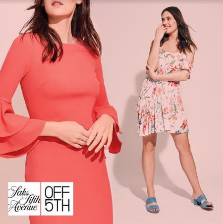 The Saks OFF 5TH Dress Event: Take an EXTRA 20% OFF* Dresses - Shop Now!