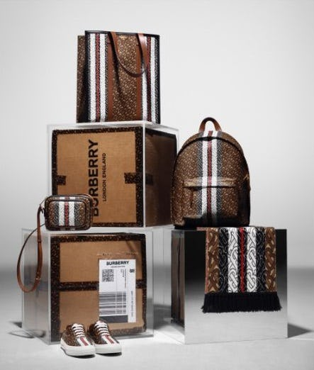 Introducing the Monogram Collection from Burberry