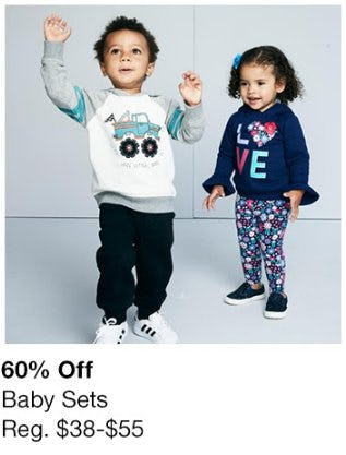 60% Off Baby Sets