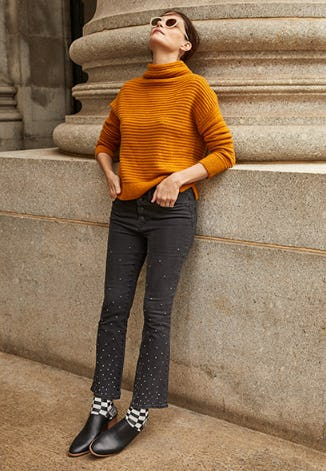 Belmont Mockneck Sweater from Madewell