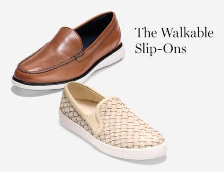 The Walkable Slip-Ons from Cole Haan