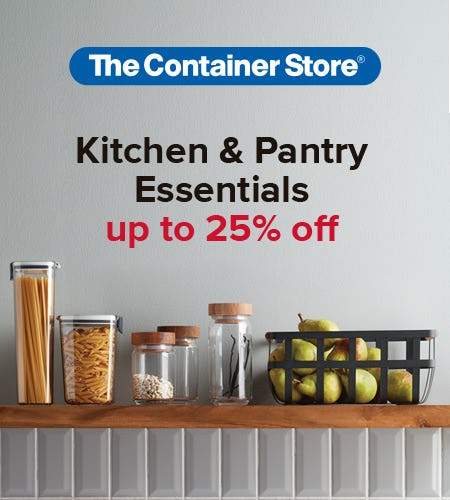The Container Store Kitchen and Pantry Sale from The Container Store