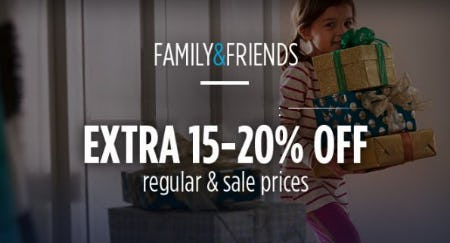 Extra 15-20% Off Regular & Sale Prices from Sears