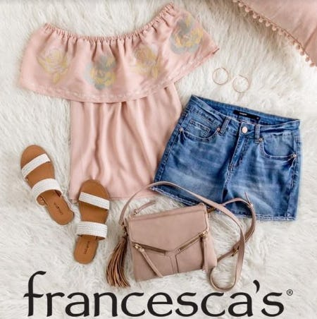 Full Price Clothing, Jewelry, Accessories, and Shoes Mix & Match, Buy One Get Two 40% Off from francesca's