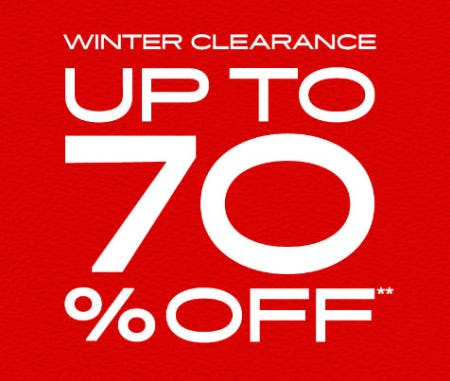 Up to 70% Off Winter Clearance from PacSun