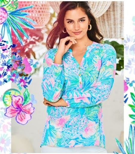 The Elsa Silk Top: A Love Story from Lilly Pulitzer