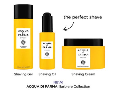 Acqua Di Parma Barbiere Shaving Gel from Blue Mercury