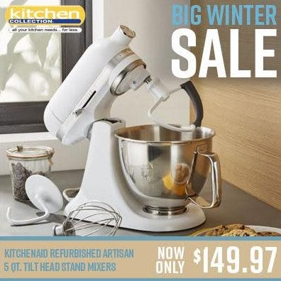 Big Winter Sale from Kitchen Collection