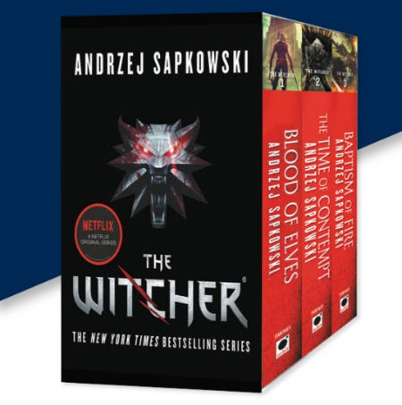 The Witcher Boxed Set from Books-A-Million
