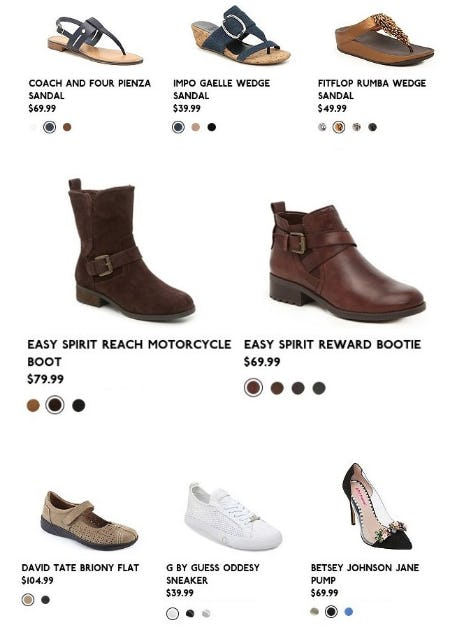 Just-In New Arrivals from DSW Shoes