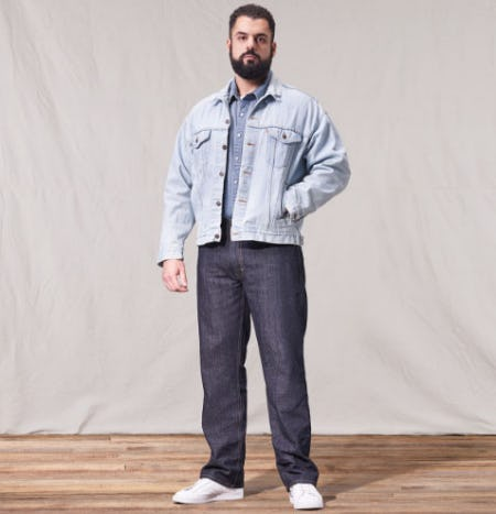 New Straight And Relaxed Jeans from The Levi's Store