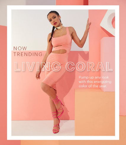 Living Coral from Charlotte Russe