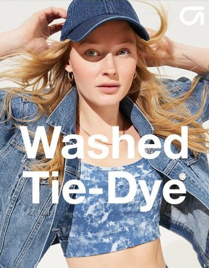 The Tie-Dye Obsession Continues from Gap