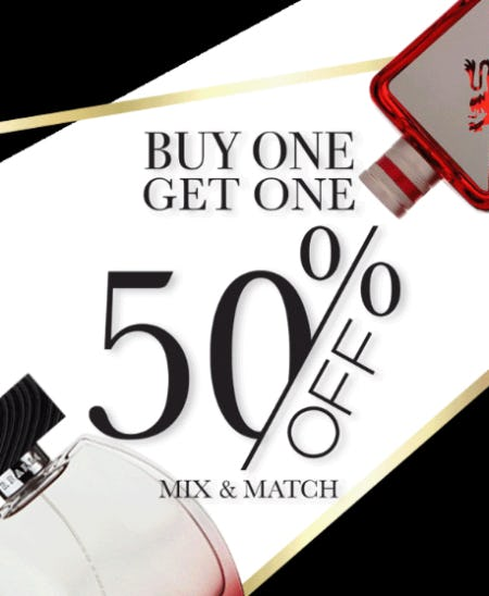 BOGO 50% Off Mix & Match from Perfumania