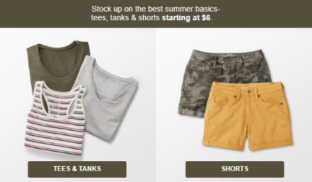 The Best Summer Basics Starting at $6 from Target