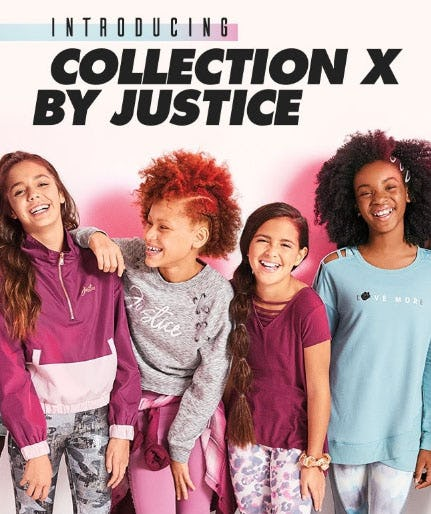 Introducing: Collection X By Justice from Justice