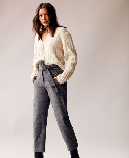 The High-Waisted Pant from Aritzia