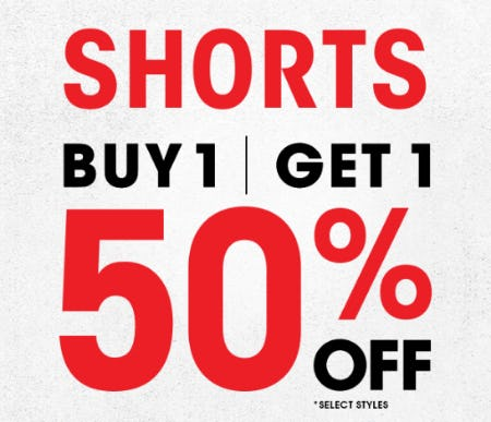 B1G1 50% Off Shorts from Rainbow