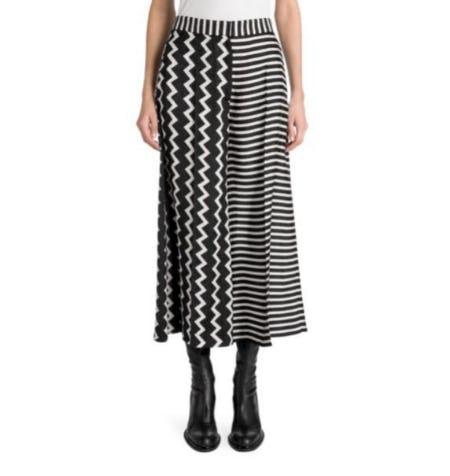 Stella McCartney Silk Stripe Skirt