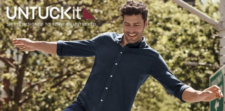 Fall Has Arrived at UNTUCKit from UNTUCKit