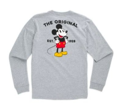 Disney X Vans Mickey Mouse's 90th Classic Boys Long Sleeve T-Shirt from Vans