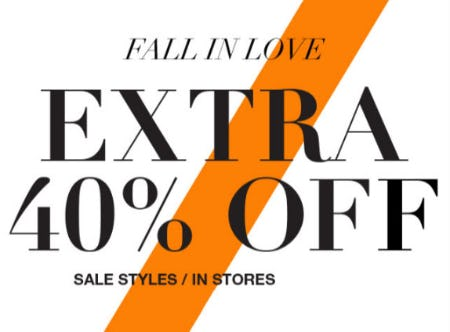 Extra 40% Off Sale Styles from Everything But Water