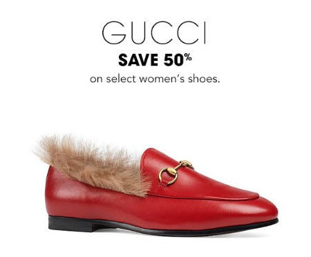 Save 50% on Gucci Shoes from Bloomingdale's