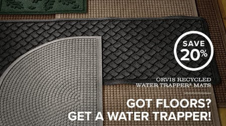 Save 20% Orvis Recycled Water Trapper Mats from Orvis