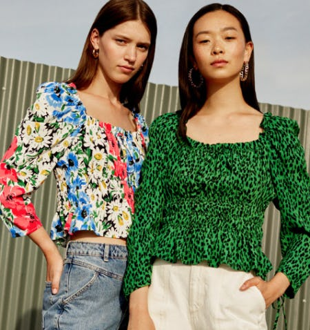 The Vancouver Blouse from TOPSHOP