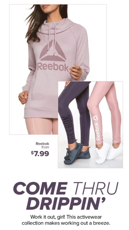 Reebok From $7.99 from Rainbow
