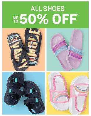 All Shoes up to 50% Off from The Children's Place