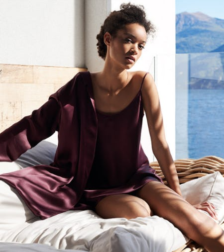 La Perla Classics: Silk Sleepwear from La Perla