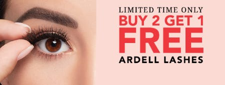 B2G1 Free on Ardell Lashes