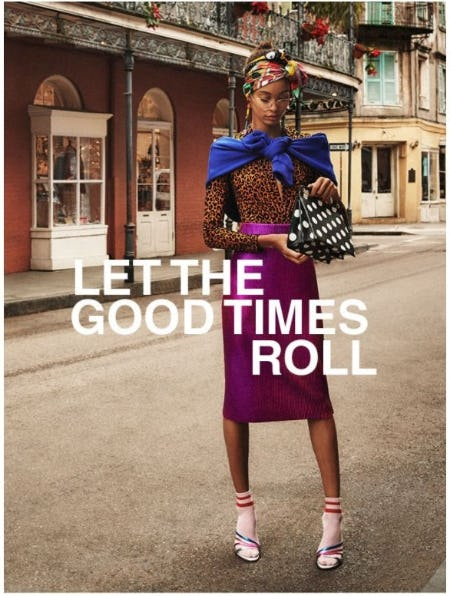 Spring Summer 2018: Let the Good Times Roll from ZARA