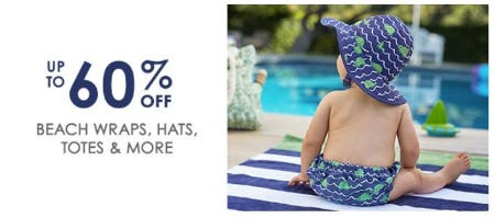 Up to 60% Off Beach Wraps, Hats, Totes & More from Pottery Barn Kids