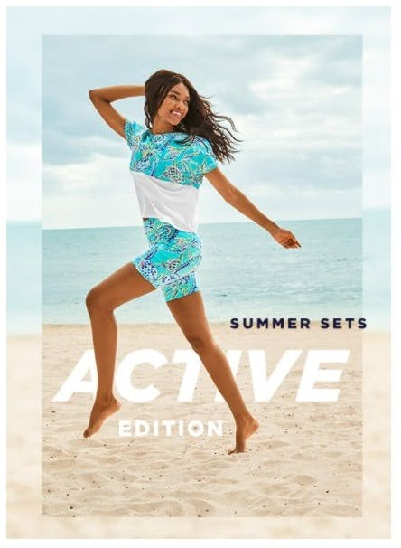 Summer Sets: Active Edition from Lilly Pulitzer