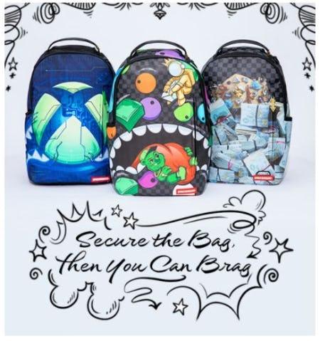 Sprayground: Inspired Design in Backpacks from Von Maur