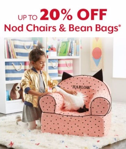 Up To 20 Off Nod Chairs Bean Bags